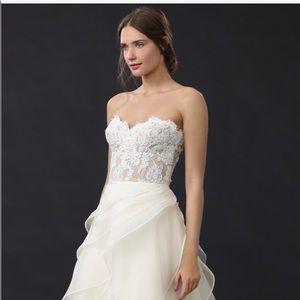 Reem Acra Wedding Gown